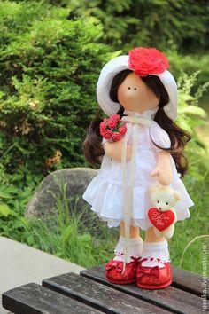 Leitis - белый,подарок,подарок на любой случай,кукла ручной работы,интерьерная кукла