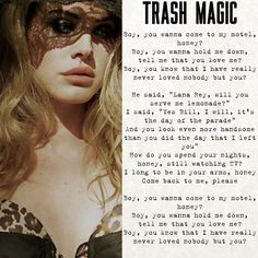 Lana Del Rey - Trash Magic