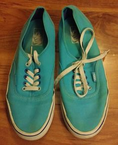 a1cdad2a9671 Vans Skate Shoes Size Men s 9.5 Women s 11 Skateboarding Blue  fashion   clothing  shoes