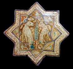 13th century tile, Iran