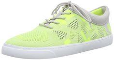 Clarks Glove Glitter, Damen Sneakers, Gelb (Yellow Neon Knit), 40 EU (6.5 Damen UK) - http://on-line-kaufen.de/clarks/40-eu-clarks-glove-glitter-damen-sneakers