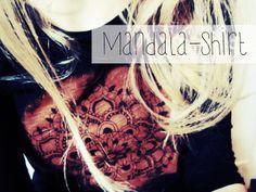 blendwerk: Refashion-DIY: Mandala-Shirt