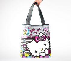 Hello Kitty Tote Bag: Lolli by Loungefly