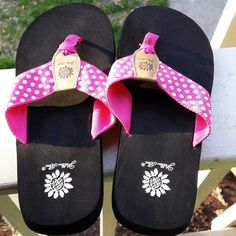 9fce12e6ceaed Yellow Box flip flops NWOT I can t find a size marked anywhere on these