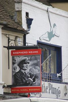 Shepherd Neame pub sign, Whitstable | From Paul WIlkinson