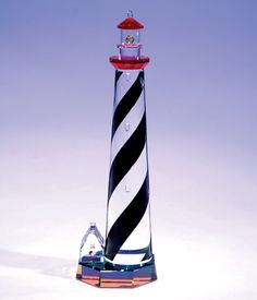 St. Augustine Lighthouse, FLA crystal figurine from www.CrystalWorld.com