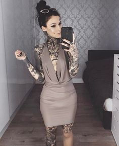 Monami Frost •MF• Gray Dress