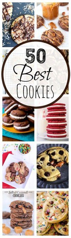 Cookie Craziness-50 Best Cookie Recipes