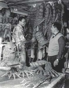 Ben Chapman and Bud Westmore Creature from the Black Lagoon.