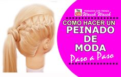 Peinados con Coletas Fáciles para Cabello Largo SENSACIONAL!!!