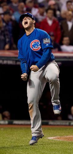 Anthony Rizzo. 2016 World Series. Game 7. November 2, 2016.
