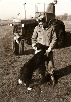 Vintage Doggy: James Dean and his Dog