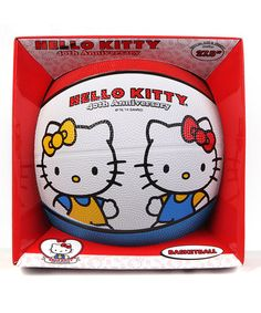 Love this Hello Kitty 40th Anniversary Sisters Basketball on #zulily! #zulilyfinds
