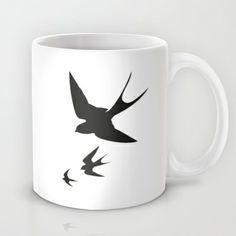 Birds Mug by Held&Lykke