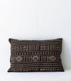 African Mudcloth Cushion / Drie / 50x70cm