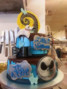 Great Nightmare Before Christmas Theme Baby Shower |