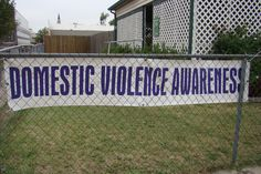 October is Domestic Violence Awareness Month wear purple to support victims October 4th