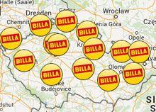 BILLA | Prodejny