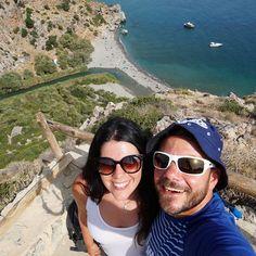 Exploring #crete with @electra_asteri! #travelcouple #happytraveller #traveling #travel #preveli #kriti #creta #worldtravel