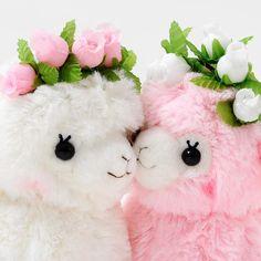 Alpacasso stuffed alpacas are just so cute. Alpacas, Alpaca Plushie, Llama Alpaca, Cute Stuffed Animals, Cute Animals, Plush Animals, Llamas Animal, Crown For Kids, Cute Llama
