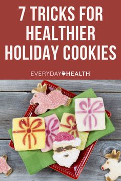Try these seven baking hacks to feel good about your sweet treats. Baking Hacks, Baking Tips, Food Dye, Chip Cookie Recipe, How To Make Cookies, Healthy Dessert Recipes, Holiday Cookies, Healthy Alternatives, Food Coloring