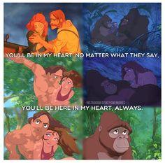 DISNEY CHALLENGE: Favorite movie: That would be Tarzan:) @Allison Wortman