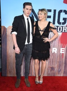 Chloë Grace Moretz and Brooklyn Beckham Make Their Red Carpet Debut as a Couple