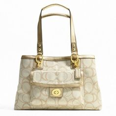 Coach Penelope Linen Signature Multicolor Carryall « Holiday Adds Discount  Coach Bags 20803fda7502e