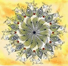 dynamic doodling (zen/art drawing) - Dare #80