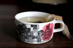 nice cup, maybe I could make one that has architecture floor plans on it?