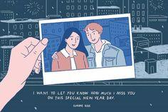 Cute Couple Comics, Couples Comics, Cute Couple Art, Cute Comics, Cute Couples, Couple Cartoon, Couple Illustration, Illustration Art, Sundae Kids