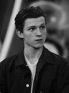 spider man far from home; Holland Spider Man Far From Home Peter Parker is back and is going on a vacation. Tom Holand, Baby Toms, Tom Holland Peter Parker, Tommy Boy, Beautiful Boys, Cute Guys, Handsome, Portraits, Wattpad