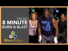 New Tae Bo® 8 Minute Workout Burn & Blast with Billy Blanks 2015 - YouTube