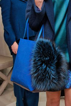 another fur bag by Elie Tahari