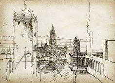 """Yaroslav Gerzhedovich """"City Landscape"""""""
