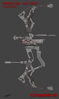 Concept Art for theCompound Bow!