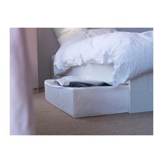 SKUBB Storage case IKEA You can even keep the storage case under the bed – perfect for extra bed linens, pillows or covers.