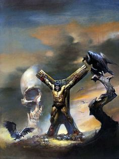Conan by Boris Vallejo