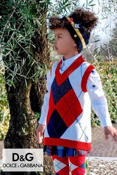 Preppy! Back to School look by Dolce & Gabbana. Girls White Red Blue Diamond Sweater & Tartan Wool Skirt. White puffed sleeve colorful buttons, a bow, a badge and a tartan flower appliqué. Designer girls clothes @ Childrensalon (affiliate). #dolcegabbana #backtoschool #girlsclothes #childrensalon #dashinfashion Girls Designer Clothes, Girls Special Occasion Dresses, Dolce And Gabbana Kids, Wool Skirts, Stylish Girl, Baby Girls, Boy Outfits, Tartan, Preppy
