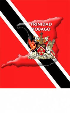 Trinidad and Tobago Red White and Black