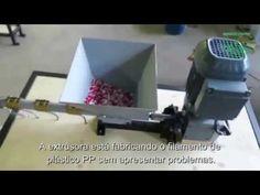 Máquina Extrusora EFP01 + Rebobinadora de Filamento Plástico - YouTube Cnc Machine, Electronics Projects, 3d Printer, Collage, Youtube, Log Projects, Houses, Collages, Collage Art