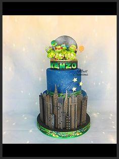Tortue ninja cake  by Cindy Sauvage