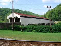 Philippi Covered Bridge across the Tygart Valley River built in 1852