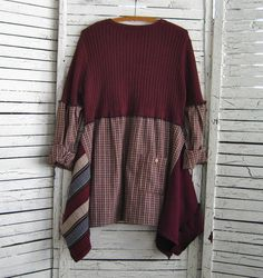 Sale Upcycled Tunic L-XXL Upcycled Clothing Recycled