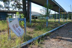 Huttig School   Abandoned Arkansas