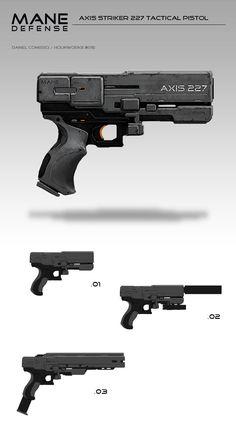 Weapon Props Concepts, Daniel Comerci on ArtStation at https://www.artstation.com/artwork/weapon-props-concepts