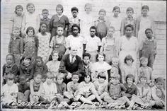 Illinois Books & Photos: Feb. 1934 Mermet IL., School, Grades 1-8