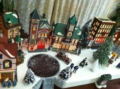Dept 56 Village Display Platform Christmas in the City