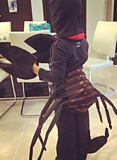 How to Make a Scorpion Costume