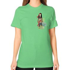 Native Boy Unisex T-Shirt (on woman)